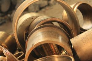Métal de bronze