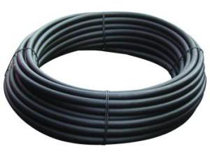 Des tuyaux en polyéthylène